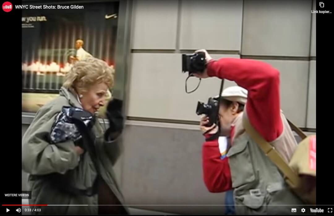 Bruce Gilden WNYC Street Shots