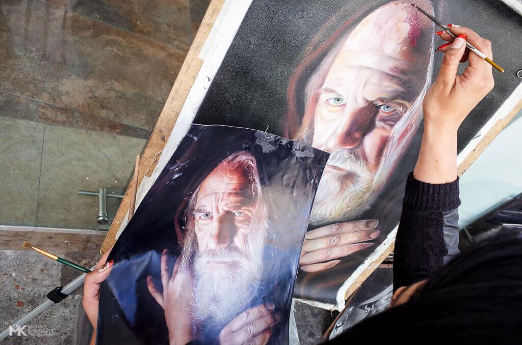 Copy Painting Bogota 2018 Michael Kowalczyk Street Photography