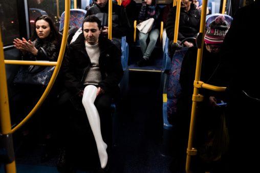 White Leg in Bus Bojan Nikolic London 2018