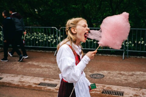 Making Of Girl with Candy Floss Interview Damian Milczarek
