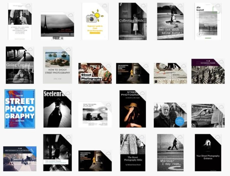 25 Free Street Photography Ebooks Library