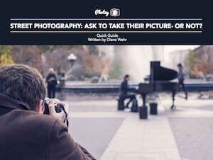 Street Photography- Ask to take their picture- or not diane Wehr