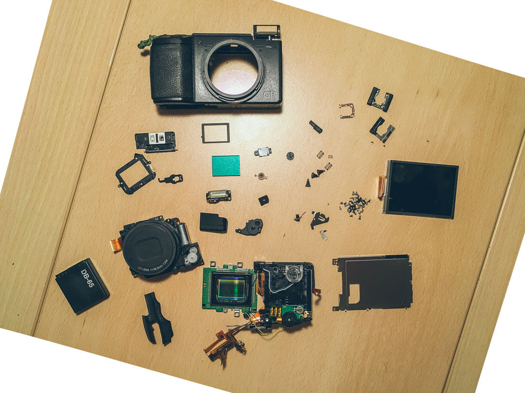 Ricoh GR Problems