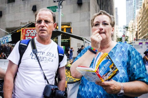 German Tourists Guidebook New York City