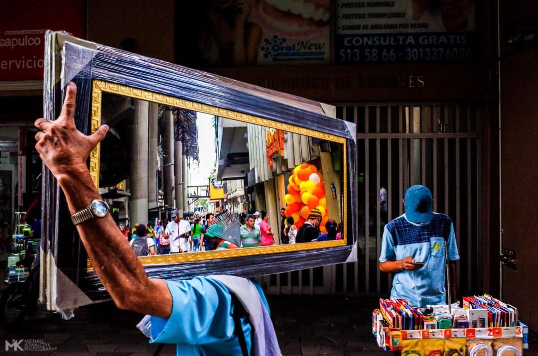 Medellin Mirror Michael Kowalczyk Photography