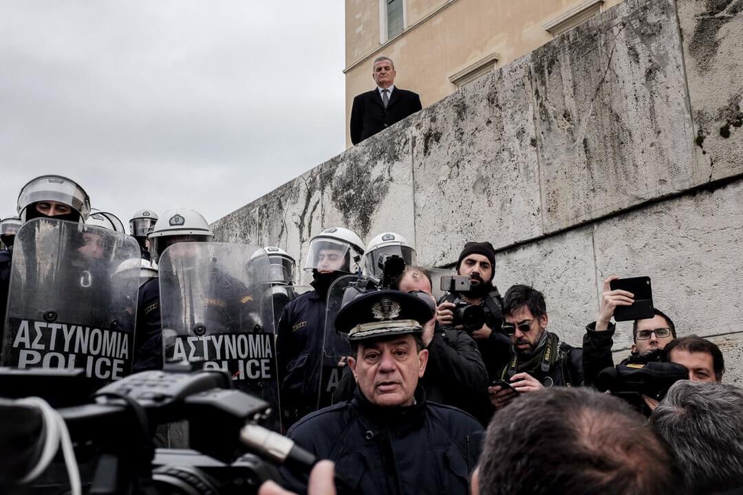 Riot Police Athens 2018 Katarzyna Kubiak