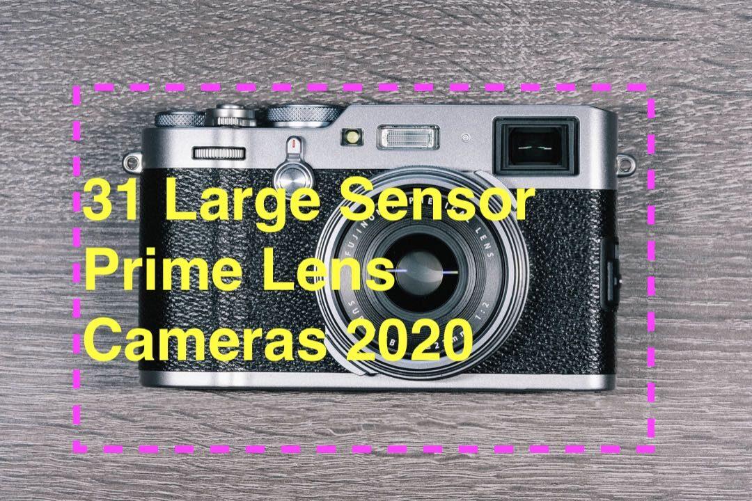 31 Large Sensor Prime Lens Cameras 2020
