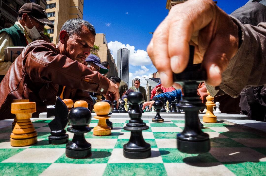 Street Chess, Bogota 2018, Michael Kowalczyk Photography
